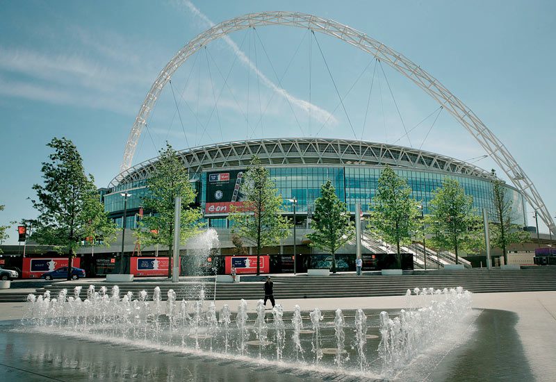 GEZE products are fit throughout London's Wembley Stadium.
