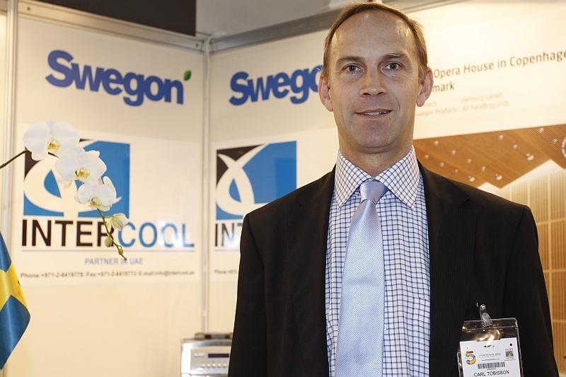 Carl Tobisson, Swegon, business development director
