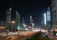Beautification of Sheikh Zayed Road just one of a number of projects the RTA is undertaking. (Getty Images)