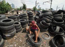 Some tyres should never go near a truck?s axle again as heat breaks the rubber down