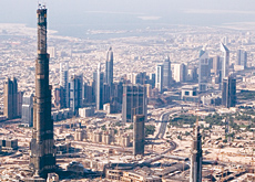 German companies Doka, Unnebeck and MEVA are among the formwork providers that have been involved with work on the world record-breaking Burj Dubai. G