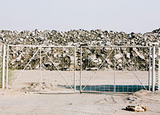 he Al Warqa landfill site: with the huge profits the private sector is making off construction, it could afford to invest in the environment (Francisc