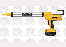 Latest range: Dewalt?s cordless caulk guns will be adaptable for a wide range of uses.