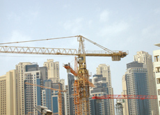 The oft-quoted myth that a third of the world's tower cranes are in Dubai is questioned