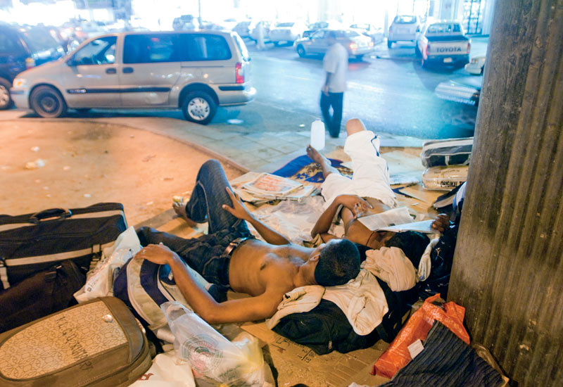 The need for an exit visa in KSA has forced illegal migrant workers to remain in the country.