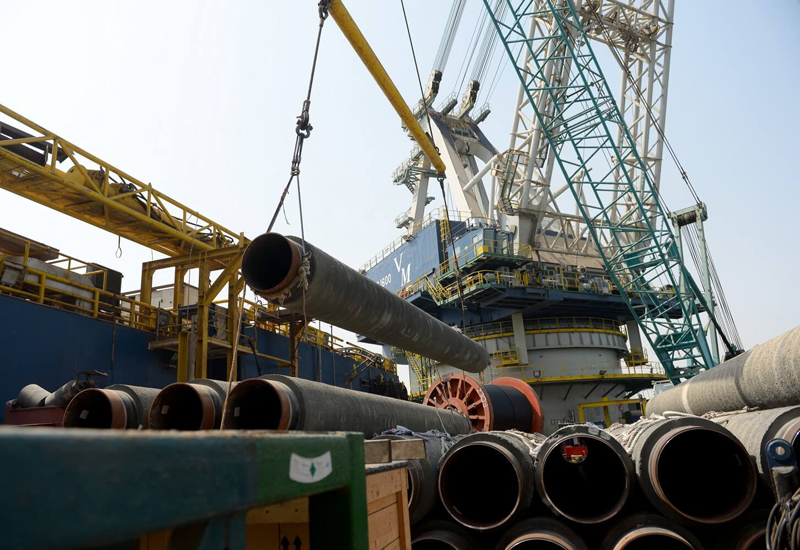 Work on Kuwait's Al Zour Refinery pipeline is ongoing.