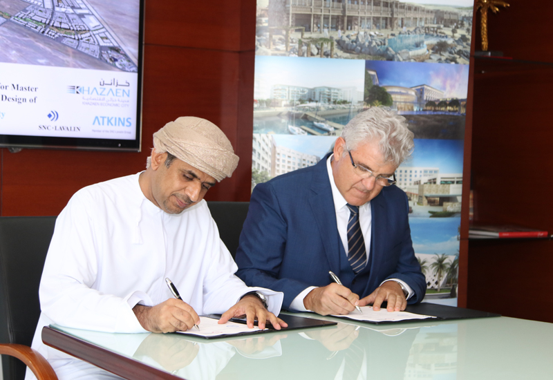 Atkins was signed on as lead consultant for Oman's Khazaen Economic City project.