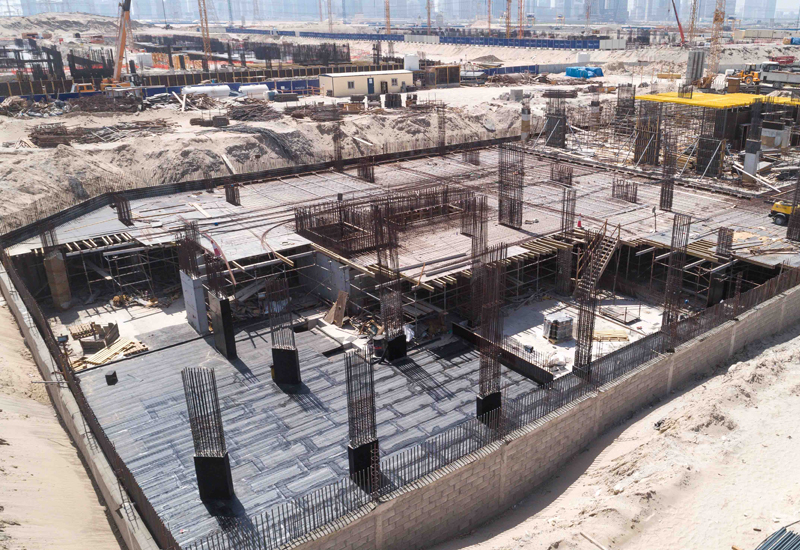 Azizi Riviera has passed the 20% completion mark.