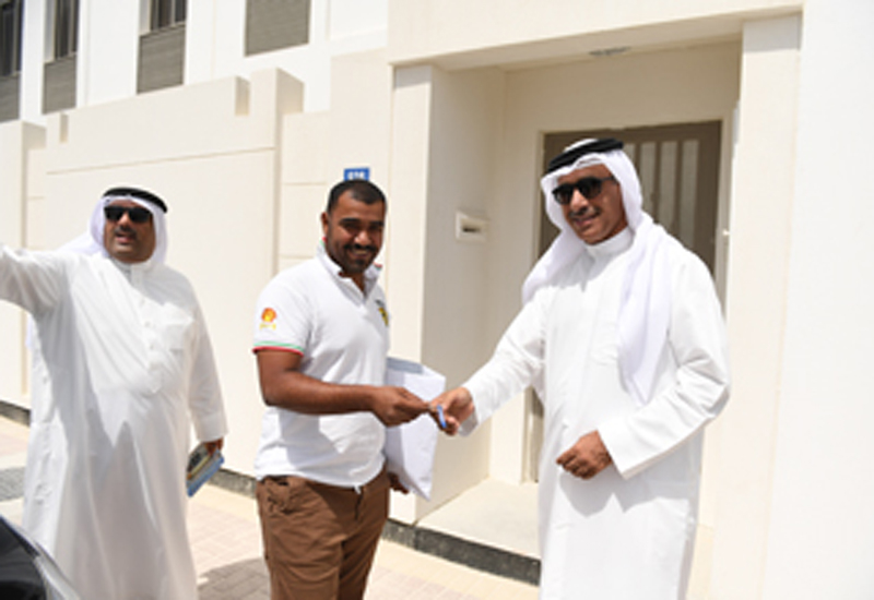 Bahrain handed over 421 Khalifa Town units in June 2018.