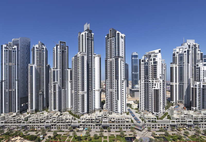 Dubai Properties' Business Bay Executive Towers development has one hotel and 11 towers.