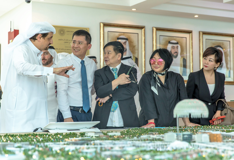 The agreement will attract Chinese investment for Expo 2020 Dubai's legacy project, District 2020.