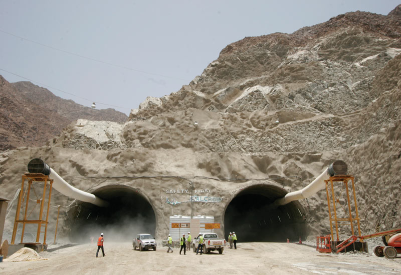 Al Fajar Al Alamia manufactures explosives used in construction blast away rock to build roads and tunnels [representational image].