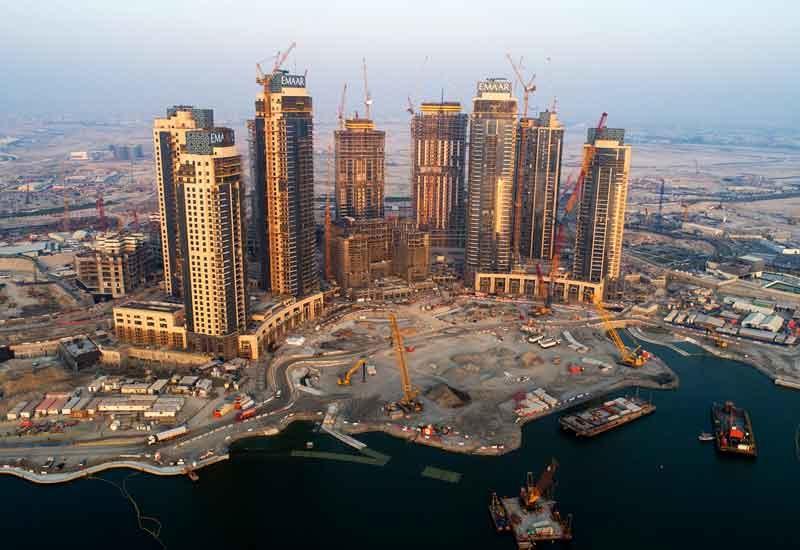 Design development work for Dubai Creek Tower was completed earlier this year [image: Emaar Properties].