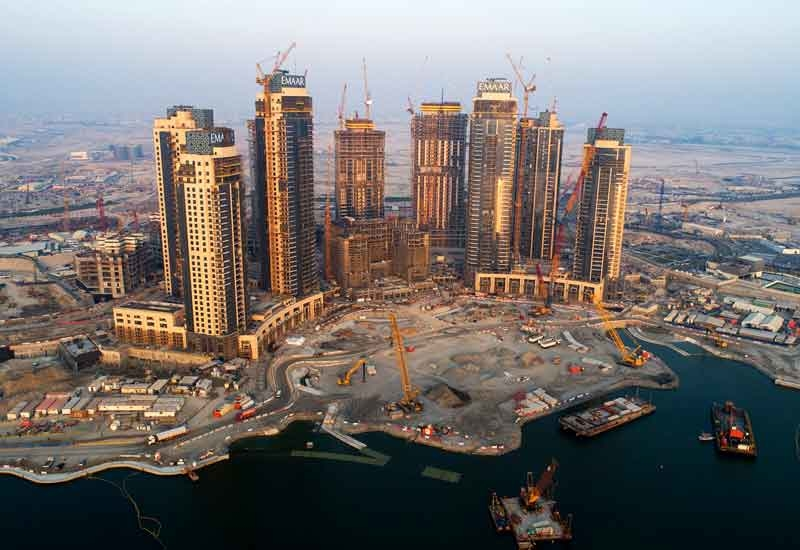 Design development work for Dubai Creek Tower was completed earlier this year [image: Emaar Properties].