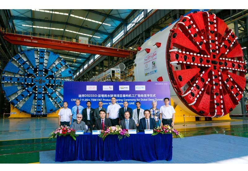 The UAE's largest TBMs are coming from China to help build a tunnel that will serve Dubai in time for Expo 2020 [image: Six Construct].