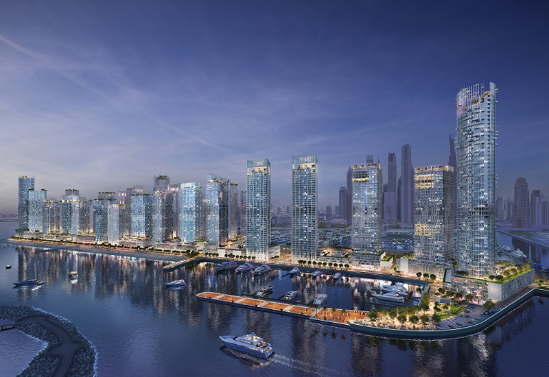 Emaar Beachfront accounted for sales of $449bn in the first half of 2018.