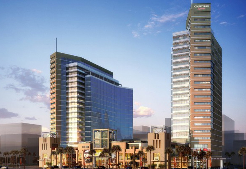 Dubai Investments' Fujairah Business Center is being built by China State Construction Engineering Corporation Middle East.