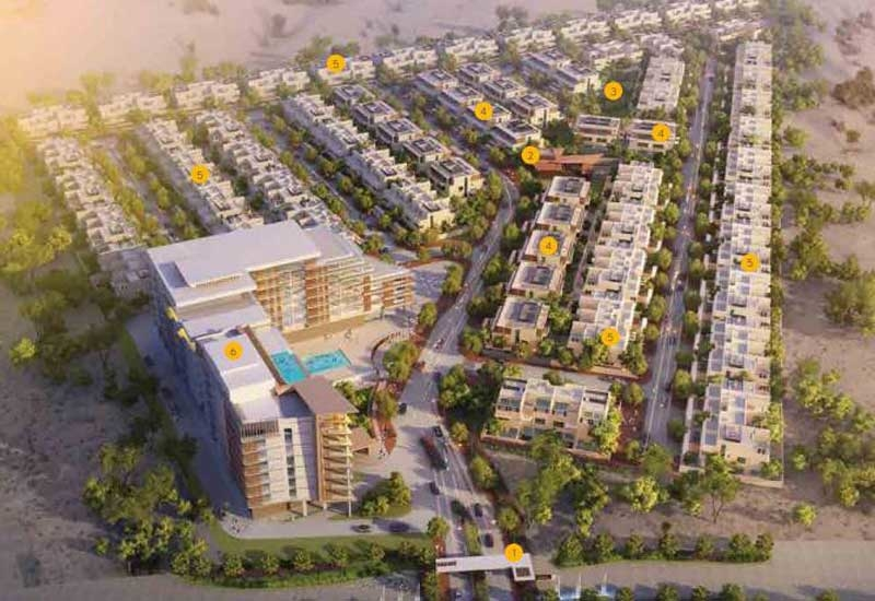 Chinese firm CMEC was picked to build Bahraini GFH's California Village in Dubailand.