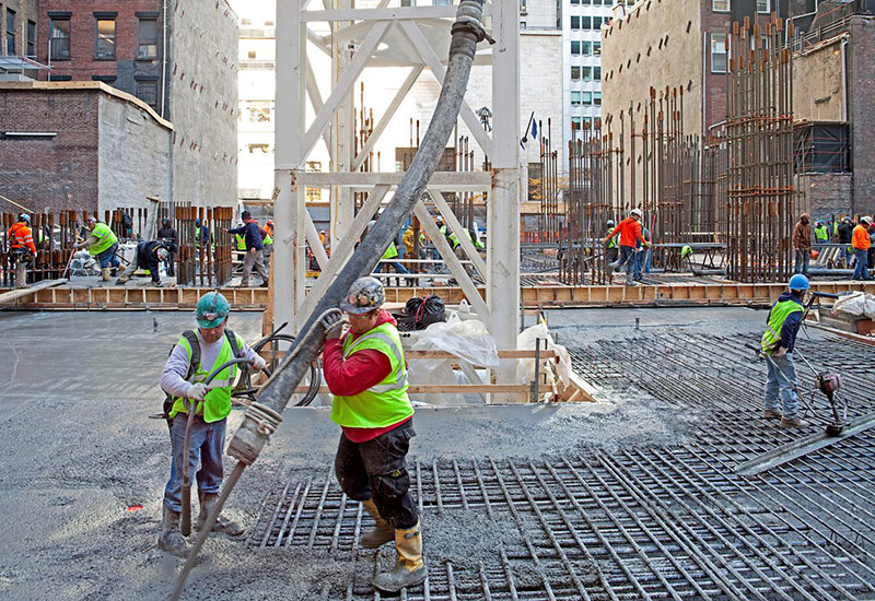 This May, DM's buildings department developed a tool to measure the environmental impact of concrete [representational image].