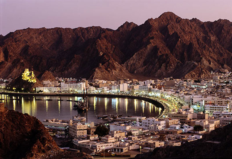 Real estate transactions have declined in Oman.
