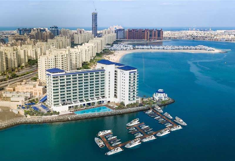 Nakheel is developing two marinas on its Palm Jumeirah development [image: Dubai Media Office].