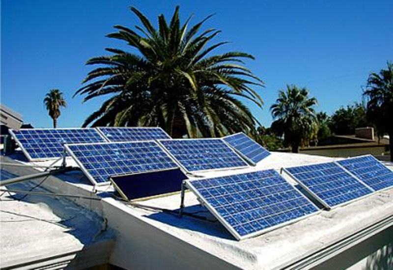 Safaqat recently finished retrofitting 640 villas in Dubai's Hatta with solar rooftop panels. [representational image].