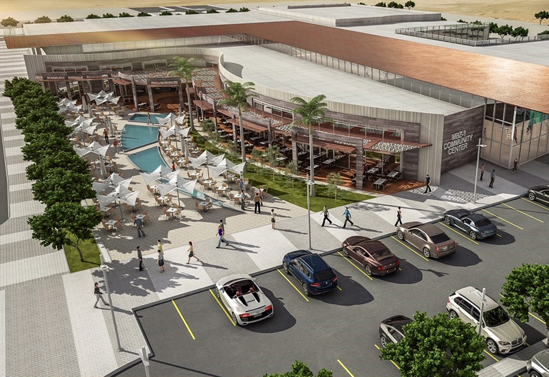 A rendering of the $9.8m market in Mohammed bin Zayed City [image: WAM].