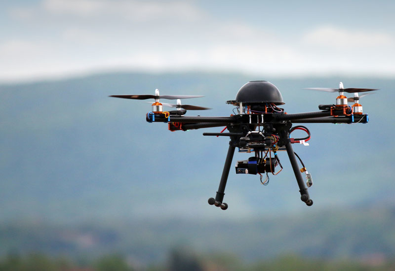 The UAE is starting to see an increase in the use of drones for construction-related uses.