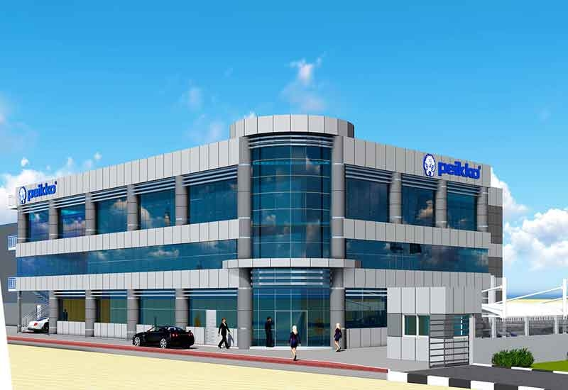 Peikkos current factory and warehouse premises in Ras al Khaimah are located near the new plot.