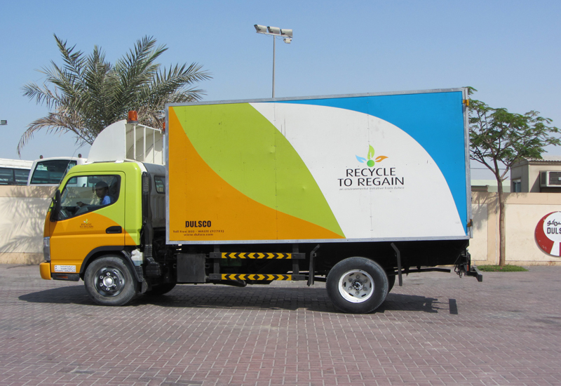 NEWS, Facilities Management, Dubai municipality, Dulsco, Recycling, Waste collection, Waste management