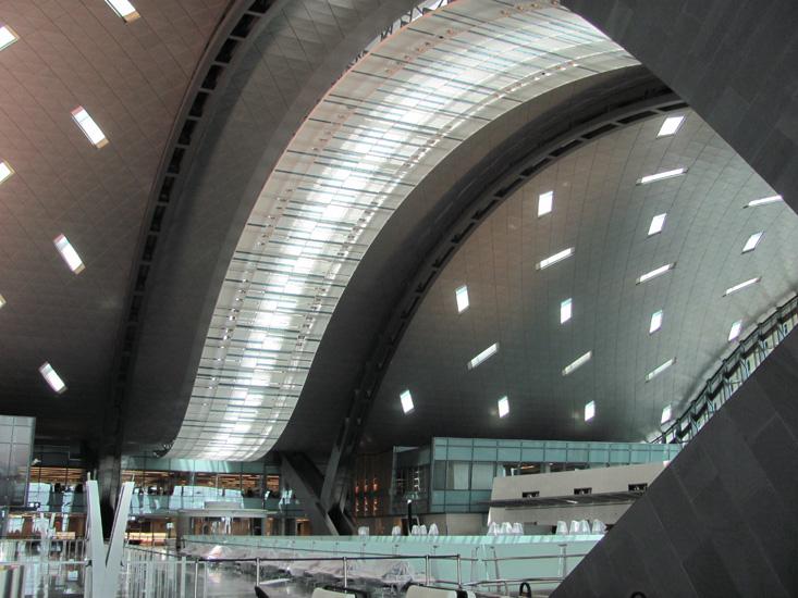 Hamad International Airport, Doha.