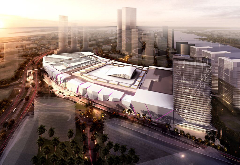 Significant construction progress has been noted at the site of Abu Dhabi's $1.2bn Reem Mall.