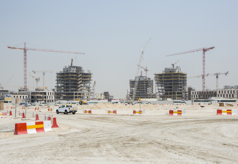 Sustainability is a key focus of Expo 2020 Dubai's construction scheme [ ITP Images / Ajith Narendra].