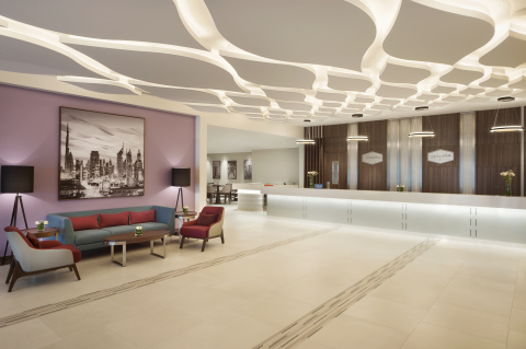 Hampton by Hilton at Dubai International Airport is the largest property in its global portfolio.