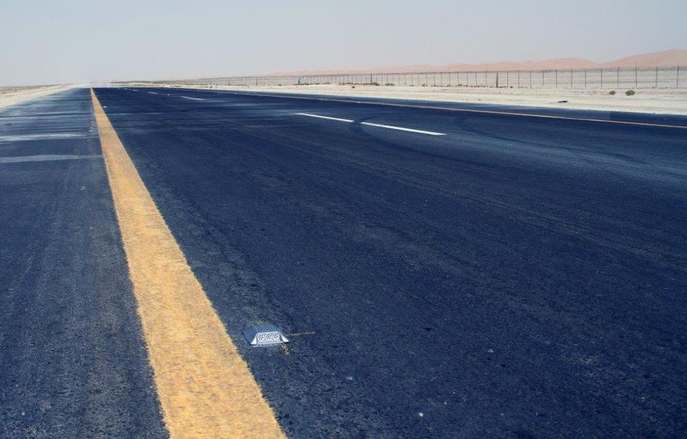 Musanada's Al Faya, Razeen, Al Quaa Road Development project is now 51% complete [representational image].