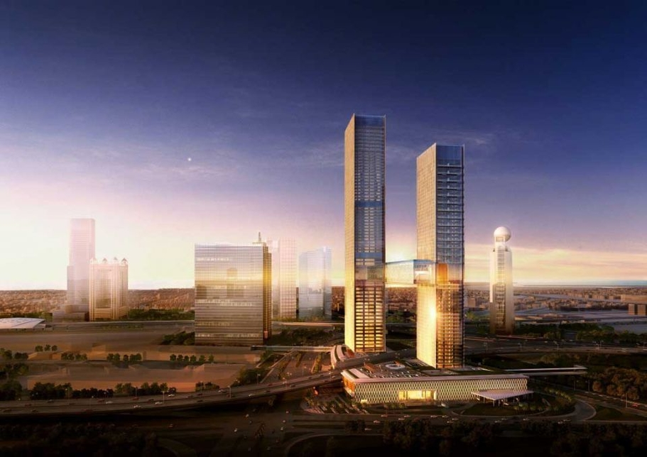 One Za'abeel consists two towers, and is being developed by Ithra Dubai, with ALEC as its main contractor.