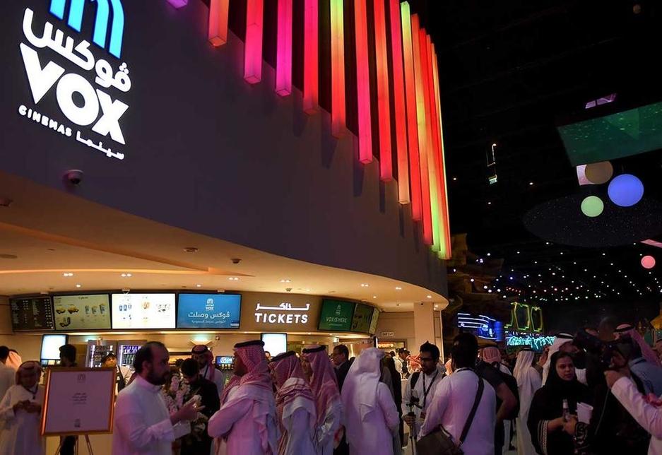 A Vox Cinemas multiplex is coming to Riyadh following a deal between the UAE's Majid Al Futtaim and Saudi's Dar Al Arkan [image: Arabian Business].