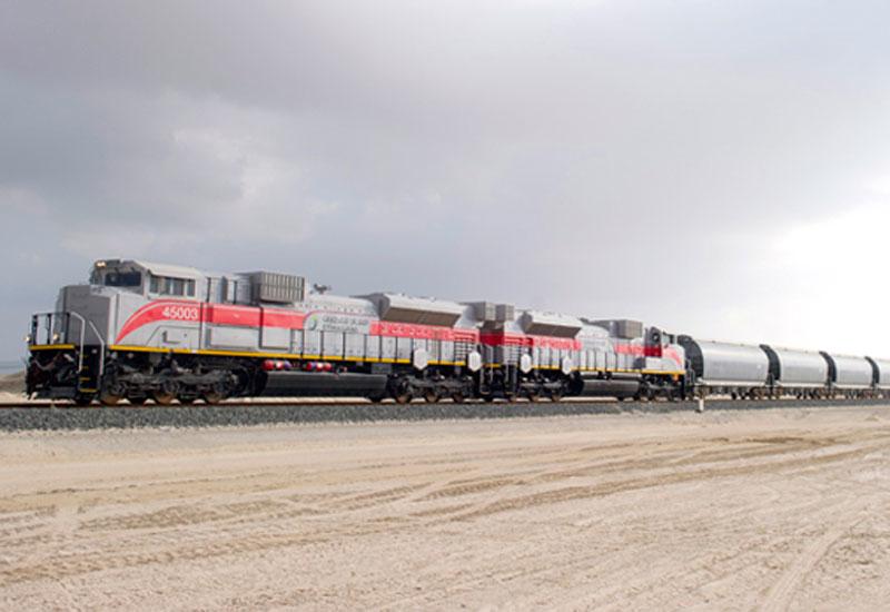 Work on the UAE's Etihad Rail has progressed this year [image: etihadrail.ae].