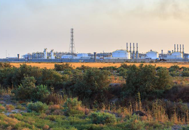 West Qurna oilfield is located 65km from Basra.
