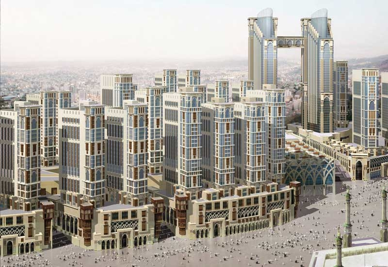 Jabal Omar is a project under way in the vicinity of the Grand Mosque in Makkah.