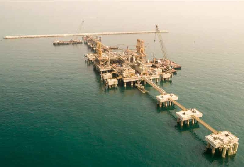 Besix completed the Bahrain LNG Import Terminal's construction in Muharraq Island despite facing excessive delays [image: Besix].