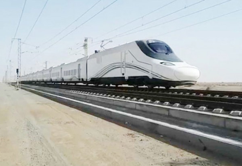 The 450km Haramain train project will link the kingdoms holy sites to other cities to facilitate travel for pilgrims and visitors.