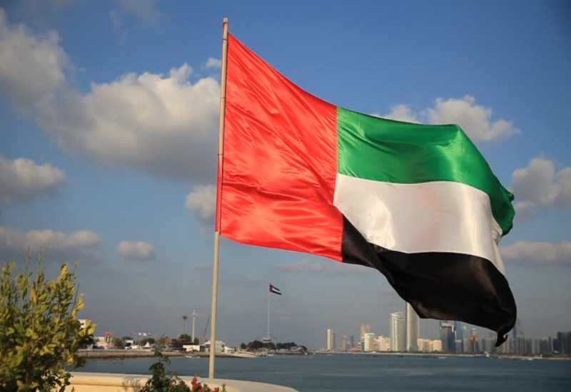 A new law has been approved by the UAE Cabinet that will allow expats to retire in the country [pictured: national flag of the UAE].