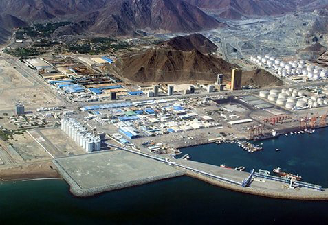BPGIC's two-phase terminal project is located near the Port of Fujairah.