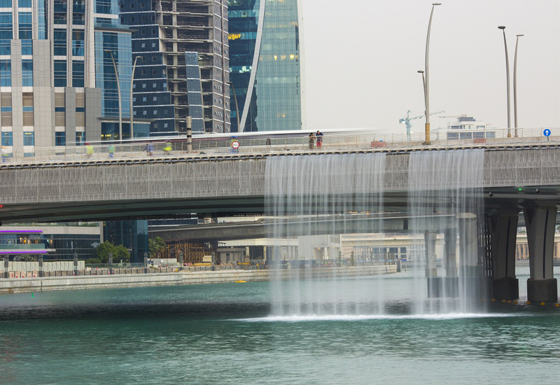 Dubai Water Canal is one of CSCEC ME's high-profile projects in Dubai.