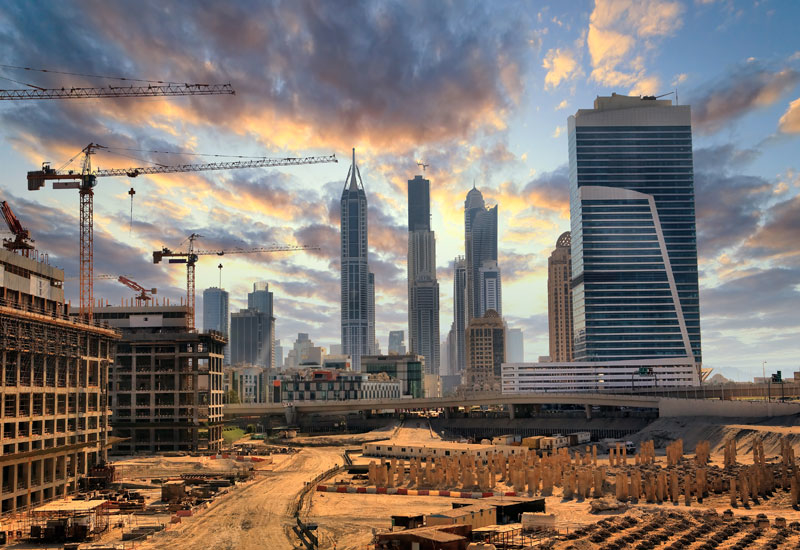 Growth in Dubai's construction market slowed in August compared to the two months prior, according to Emirates NBD [representational image].