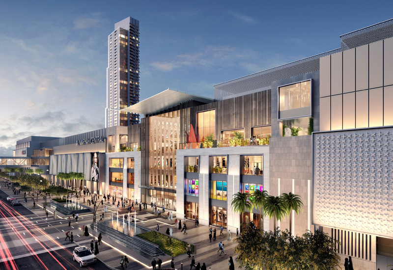 Construction of the Al Maryah Central mall in Abu Dhabi is now officially complete.