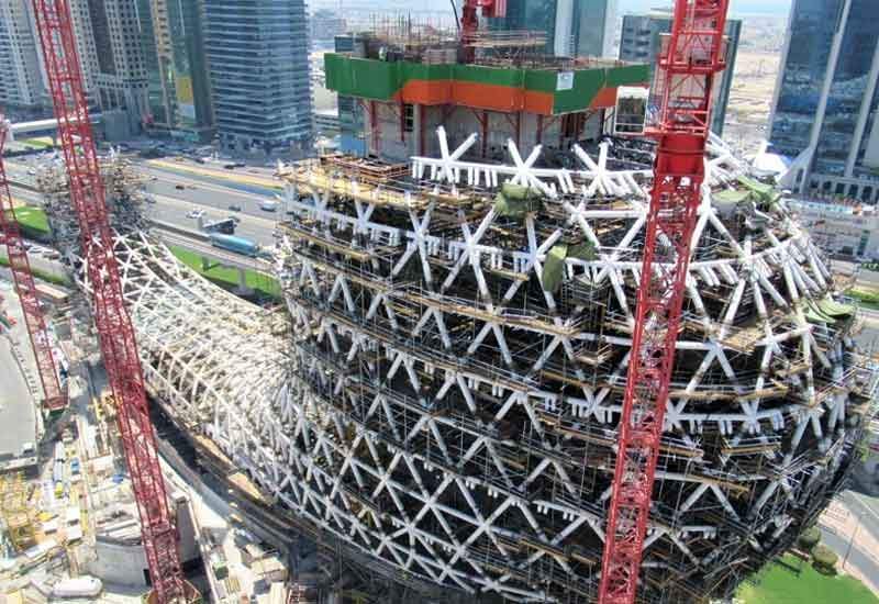 Dubai's Museum of the Future is due to complete on time [image: Tekla].