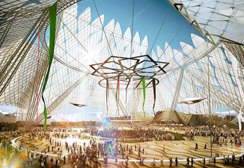 Expo 2020 Dubai is making steady construction progress.