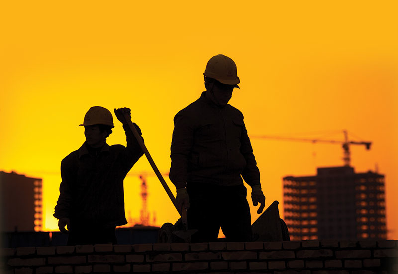 A worker on an unnamed contracting company died following a fight at a construction site in Dubai's Business Bay in April [representational image].